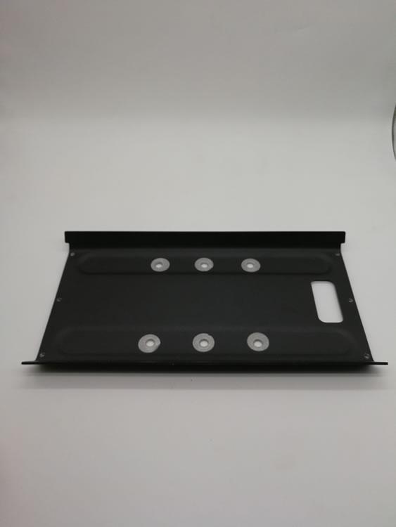 五金冲压件  电源两位固定板